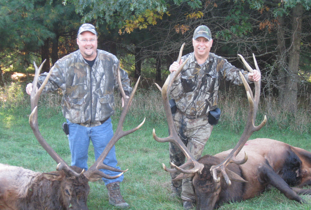 guided hunting trip wisconsin